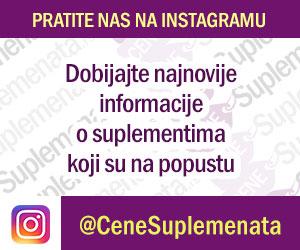 Pratite nas na instagramu @CeneSuplemenata