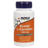 NOW - Acetyl L-Carnitine 500mg 100 kapsula