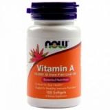NOW - Vitamin A 10000 IU 100 kapsula