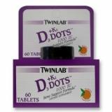 Twinlab - D-3 1000 + K-2 Dots 60 tableta