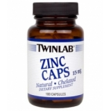 Twinlab - Zinc Caps 15mg 100 kapsula