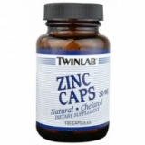 Twinlab - Zinc Caps 30mg 100 kapsula